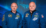 nasa space study with twins