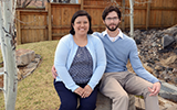 kristy pabilonia and brendan podell honored for foster care