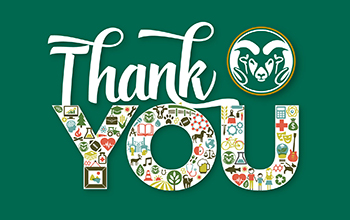CSU Thank you Giving Graphic