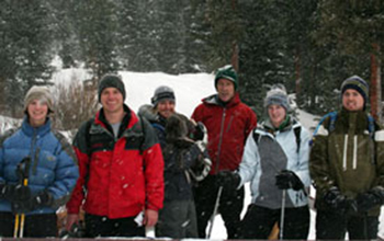 Dow Snowshoeing