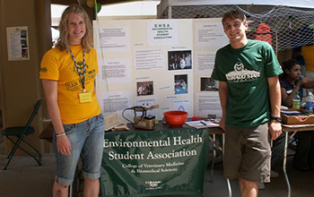 Environmental Health Student Association at Ram Welcome