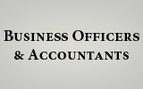 Graphic for business officers and accts