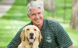Mark Stetter with dog