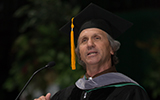Tim Holt speaks at commencement 2013.