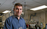 Dr. John Volckens studies tiny particles